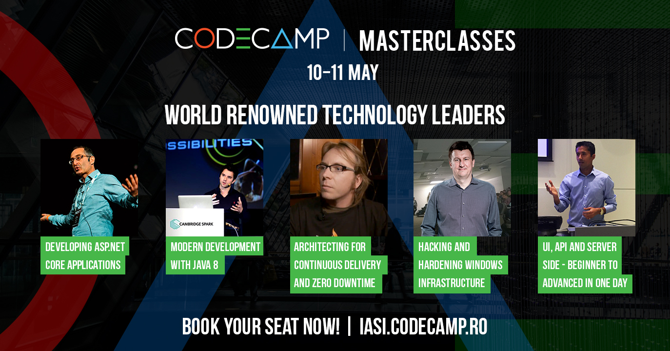 Codecamp masterclasses